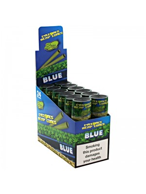 Cyclones Hemp Pre Rolled Cones - Blue
