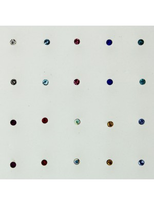 Sterling Silver Round Nose Wires - Assorted Colours (1mm) Wholesale