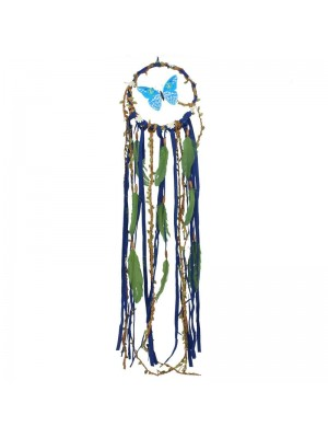 Blue Butterfly Dreamcatcher - 91cm Wholesale