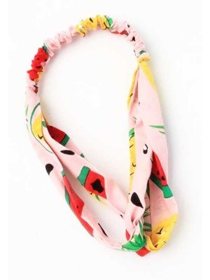 Wholesale Cotton rich Childrens tropical fruit print fabric bandeau