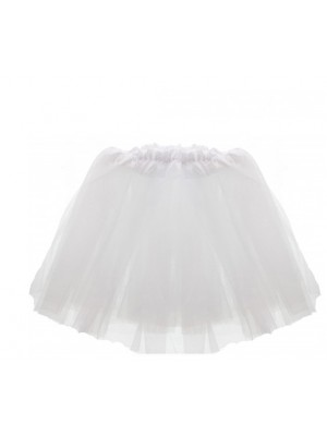 Children's White Tutu Skirt
