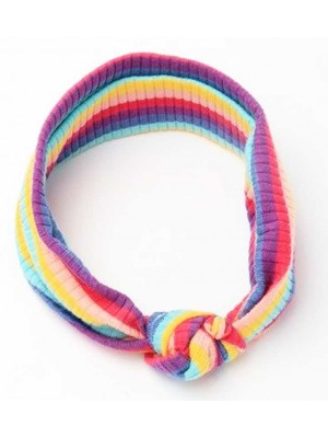 Wholesale Molly & Rose Children Rainbow Striped Bandeau-Rainbow