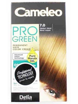 Wholesale Delia Cosmetics Cameleo Pro Green Permanent Hair Colour Cream-7.0(Medium Blond)