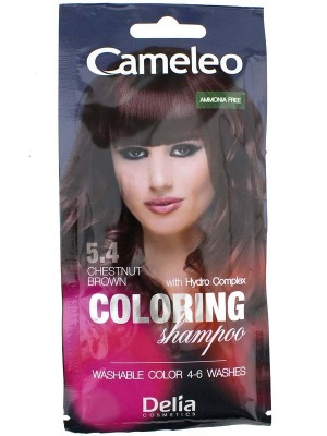 Wholesale Cameleo Colouring Shampoo - Chestnut Brown (5.4)