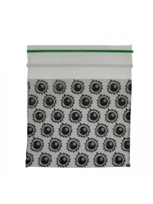 Grip Sealed Printed Baggies - 8 Ball Design (50mm x 50mm)
