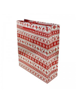 Christmas Design Gift Bag - Medium (23cm x 27cm x 8cm)