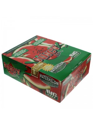 Wholesale Juicy Jay's Big Size Flavored Rolls - Watermelon