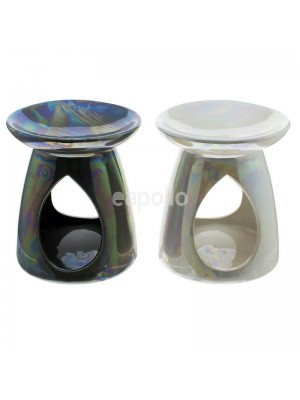 Ceramic Tear Shape Oil Burner - Oil Spill Design