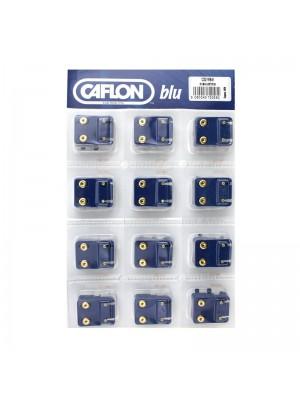 Caflon Blu Mini August Gold Peridot Birthstone Studs