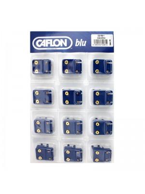 Caflon Blu Mini November Gold Topaz Birthstone Studs