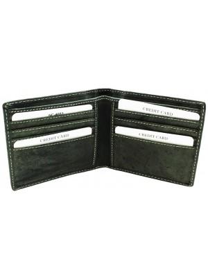 Wholesale Men's Woodbridge RFID Leather Wallet - Black