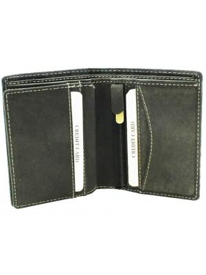 Wholesale Men's Woodbridge RFID Protected Leather Wallet - Black