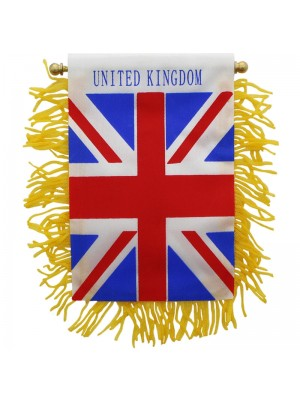 Union Jack Mini Banner Flag - 10cm x 13cm Wholesale