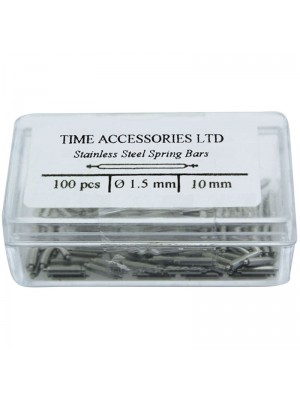 Stainless Steel Spring Bars (1.5mm/10mm) Wholesale