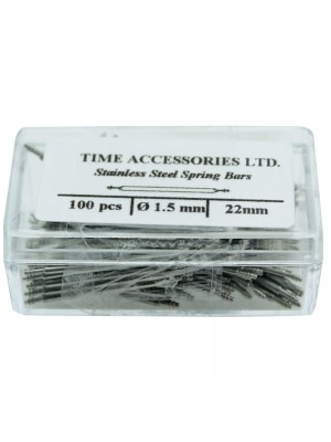 Stainless Steel Spring Bars (1.5mm/22mm) Wholesale