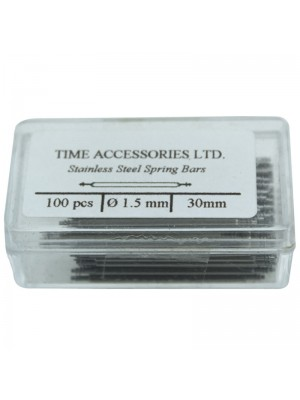 Stainless Steel Spring Bars (1.5mm/30mm) Wholesale