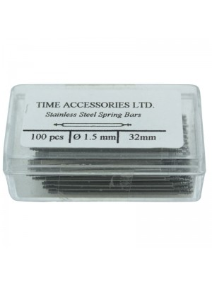 Stainless Steel Spring Bars (1.5mm/32mm) Wholesale