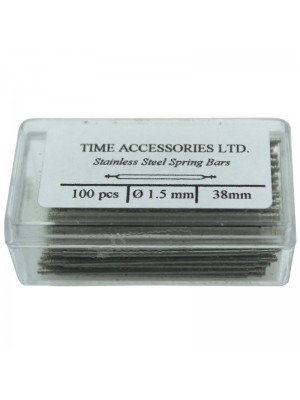 Stainless Steel Spring Bars (1.5mm/38mm) Wholesale