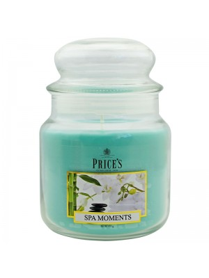Price's Candles - Medium Jar (Spa Moments) Wholesale