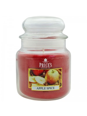 Price's Candles - Medium Jar (Apple Spice) Wholesale