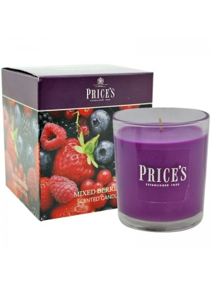 Price's Candles - Boxed Jar (Mixed Berries) Wholesale