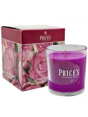 Price's Candles - Boxed Jar (Damson Rose) Wholesale