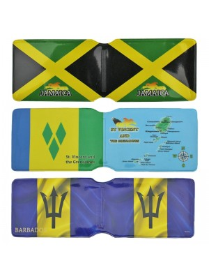 Caribbean Country Card Holders (Assortment) Wholesale