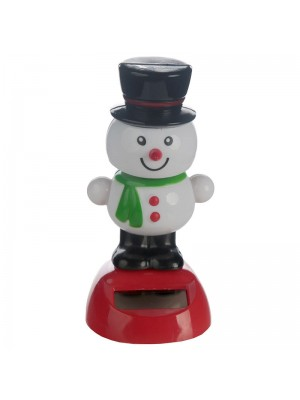 Jingle Jivers Christmas Snowman Solar Pal Wholesale