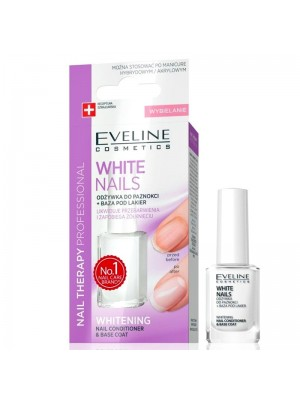 Eveline - White Nails Conditioner and Base Coat Wholesale