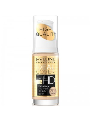 Eveline - Idea Cover Foundation Full HD 16hr (202 Pastel) Wholesale