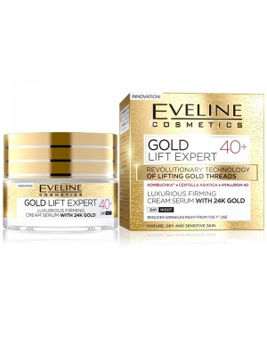 Eveline - Gold Life Expert 40+ Cream Serum with 24K Gold Wholesale