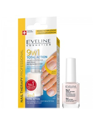 Eveline - 9 in 1 Total Action Anti-Ridge Toe Nail Treatment Wholesale