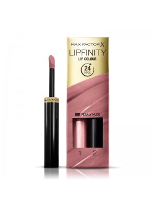 Max Factor Lipfinity 24 hours Lip Colour - 001 Pearly Nude