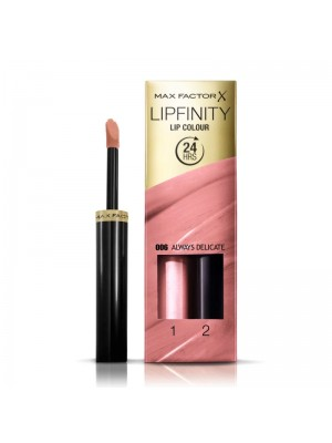 Max Factor Lipfinity 24 hours Lip Colour - 006 Always Delicate
