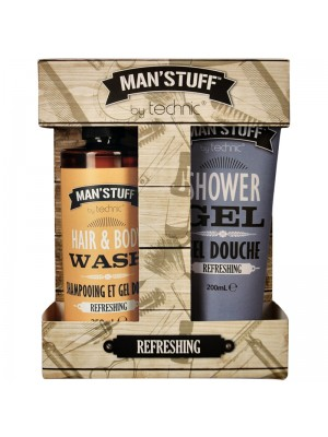 Technic Man'Stuff Refreshing Gift Set