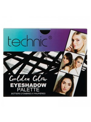 Technic Golden Glow - Eyeshadow Palette