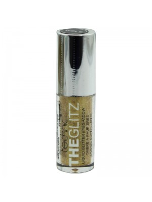 Technic The Glitz Liquid Glitter Eyeshadow - Gold