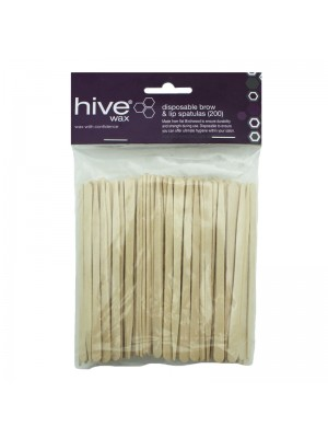 Hive of Beauty - Disposable Brow & Lip Spatulas (9cm x 0.5cm)