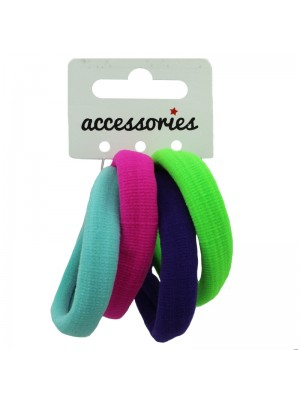 Jersey Fabric Endless Elastics - Assorted Colours