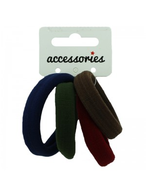 Jersey Endless Elastics - Assorted Dark Colours