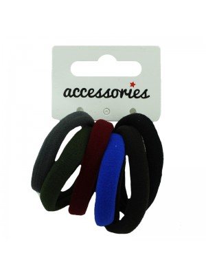 Jersey Endless Elastics - Assorted Dark Mix Colours
