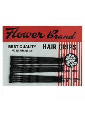 Hair Grips - Black (4cm)