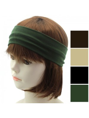 Molly & Rose Soft Stretch Headbands - Assorted Colours