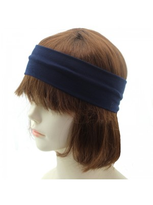Molly & Rose Soft Stretch Headbands - Navy