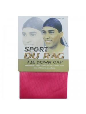 Sport Durags - Tie Down Cap (Pink)