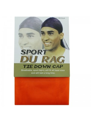 Sport Durags - Tie Down Cap (Orange)
