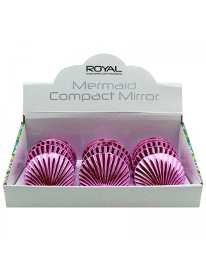 Royal Mermaid Compact Mirrors