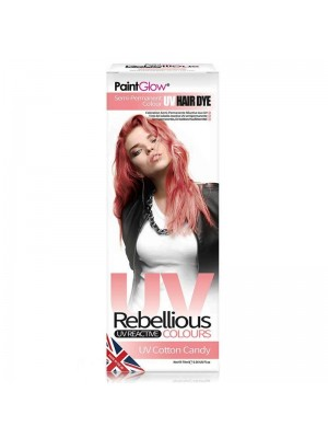 Paint Glow Rebellious UV Reactive Colours - Cotton Candy