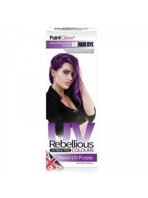 Paint Glow Rebellious UV Reactive Colours - Neon UV Purple