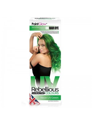 Paint Glow Rebellious UV Reactive Colours - Neon UV Green